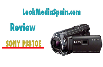 Review Sony HDR PJ810