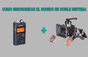 como sincronizar el sonido mini