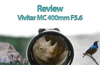 review vivitar 400mm mini
