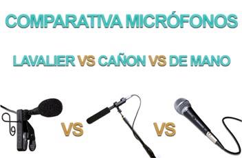 Comparativa micrófonos