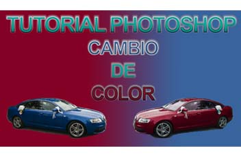 tutorial photoshop para cambiar el color