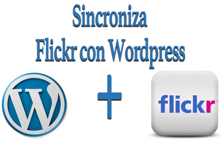 sincronizar flickr con wordpress alt