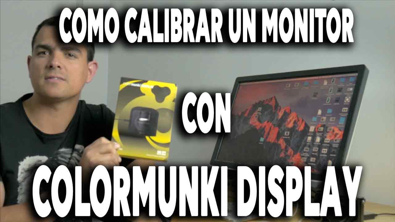 calibrar un monitor