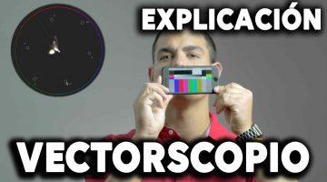 Vectorscopio, explicación sencilla