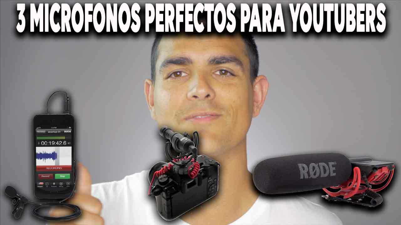 Micrófonos perfectos para Youtubers