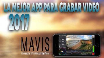 La mejor app para grabar video