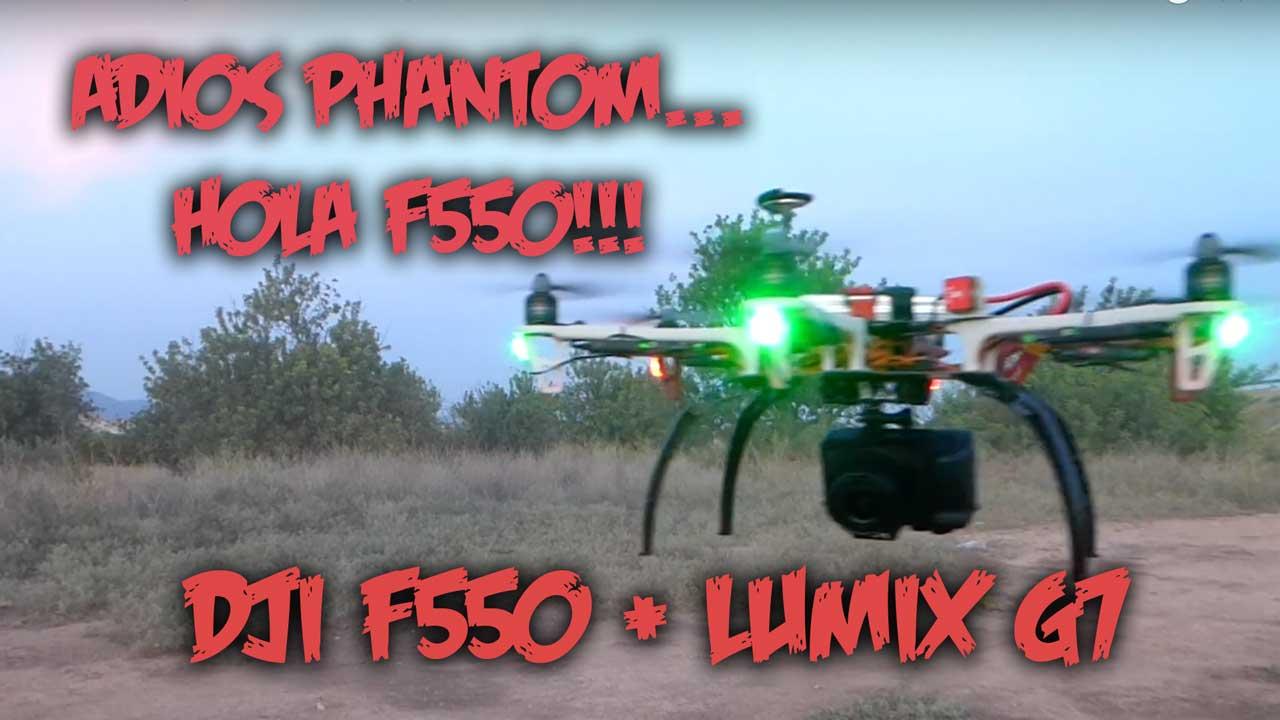 dii f550 Lumix g7