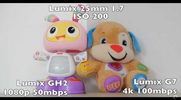 Lumix GH2 VS Lumix G7 comparando su imagen en video